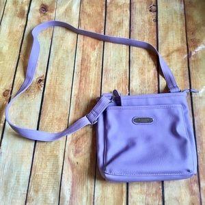 Lavender Rosetti Crossbody Purse